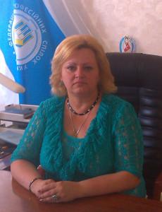 Голова Федерації профспілок Волинської області - Іванна Анатоліївна Дубинка-Філозоф