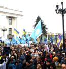 Профспілки вийшли на солідарну акцію протесту проти звуження трудових прав працівників, за гідні умови та оплату праці